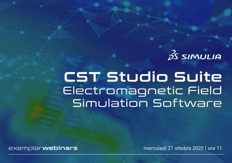 Webinar CST Studio Suite – Electromagnetic Field Simulation Software