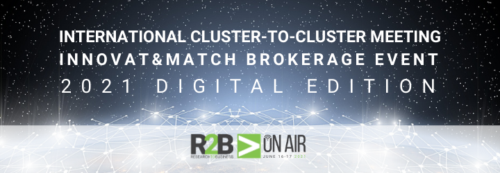 Cluster-to-Cluster Meeting & Innovat&Match Brokerage Event 2021