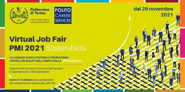 Virtual Job Fair Sostenibilità